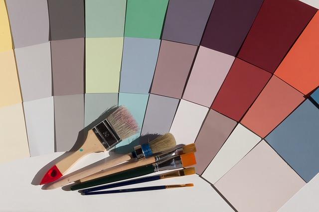 barevné vzory