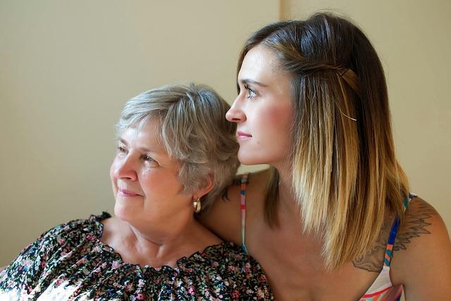 dvě generace žen